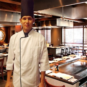 White Hibachi chef says he is saving up money for a trip to Japan
